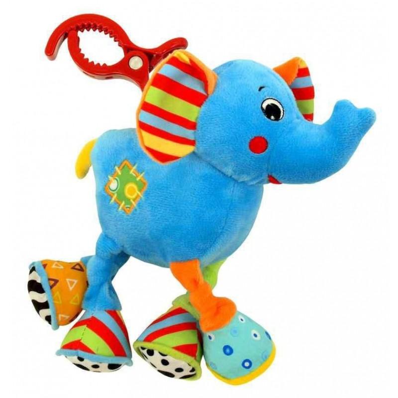 Jucarie educativa din plus Elephant :: Baby Mix