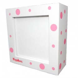 Rama foto din lemn Bubbles Pink :: Playshoes
