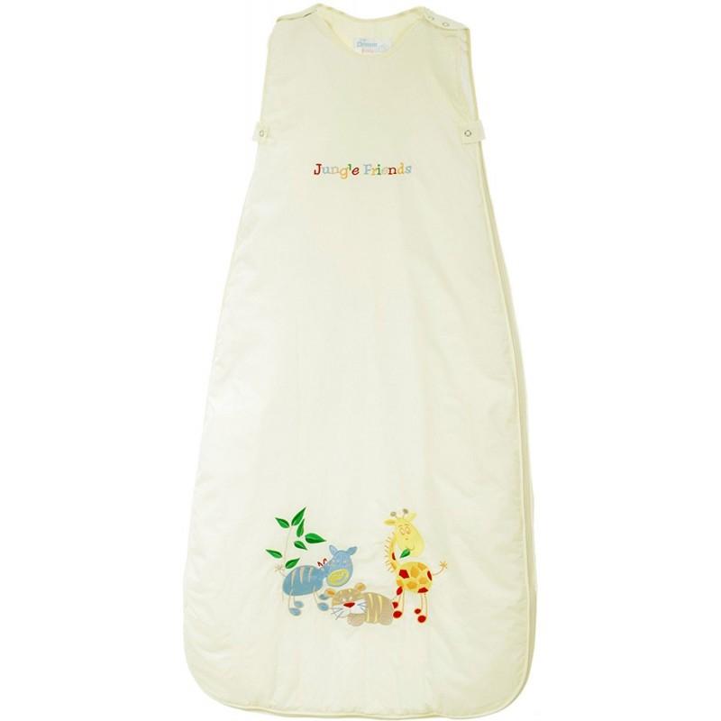 Sac de dormit Jungle Friends 0-6 luni 3.5 Tog :: The Dream Bag