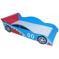 Pat cu cadru din lemn Racing Car :: Style