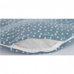 Sac de dormit Drops Ocean Blue - 80/86 cm :: Traeumeland
