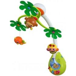 Carusel muzical cu lumini Jungle :: Baby Mix