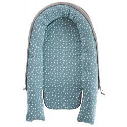 Cuib pentru bebelusi Drops Ocean Blue :: Traeumeland
