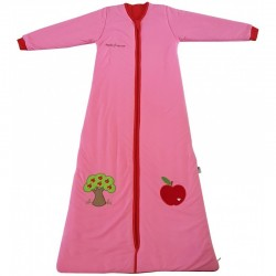 Sac de dormit cu maneca lunga Apple of my eye 3-6 ani 2.5 Tog :: Slumbersac