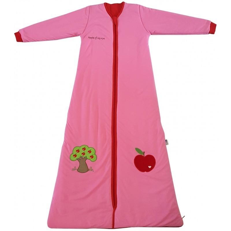 Sac de dormit cu maneca lunga Apple of my eye 3-6 ani 2.5 Tog :: Slumbersac