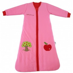 Sac de dormit cu maneca lunga Apple of my eye 0-6 luni 2.5 Tog :: Slumbersac