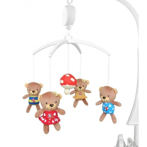 Carusel muzical Mushroom Bear :: Baby Mix