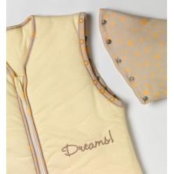 Sac de dormit cu maneca lunga detasabila Sweet Dreams 0-6 luni 2.5 Tog :: Slumbersac