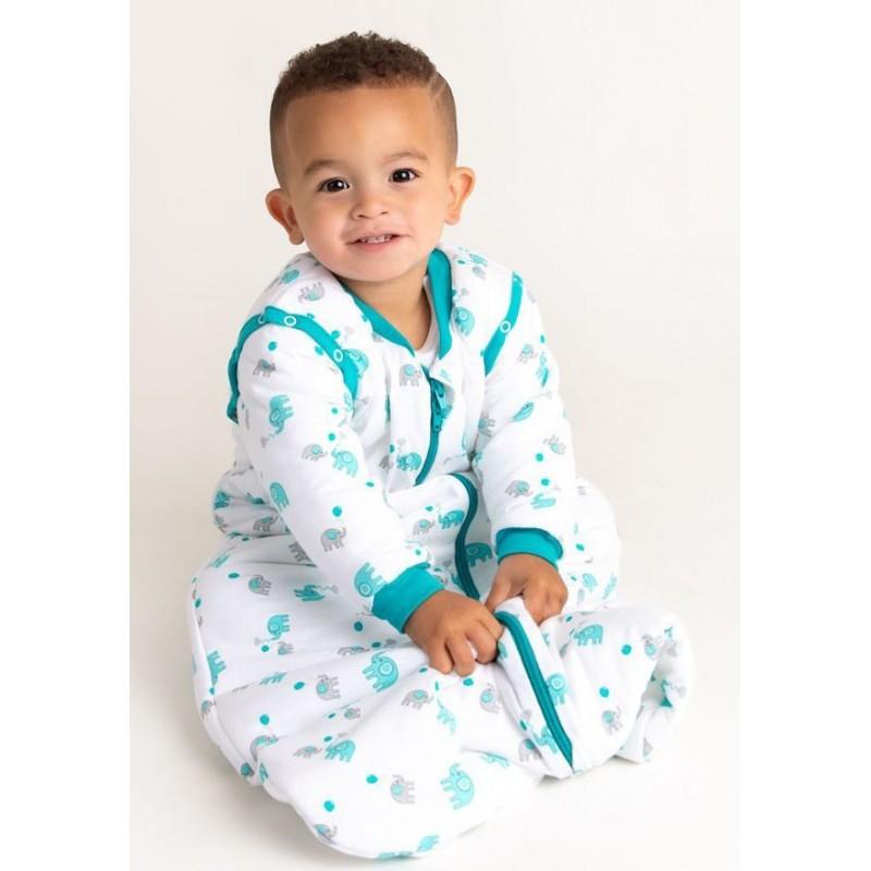 Sac de dormit cu maneca lunga Elephant 3-6 ani 3.5 Tog :: Slumbersac