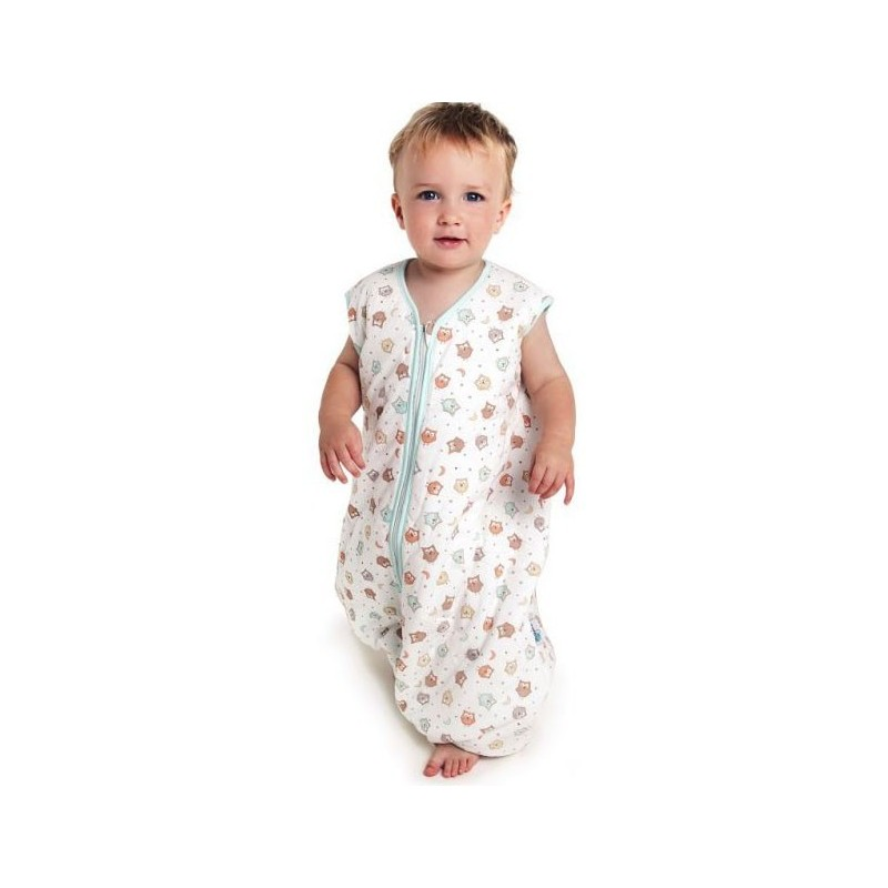 Sac de dormit cu picioruse si talpa antiderapanta Owl 12-18 luni 2.5 Tog :: Slumbersac