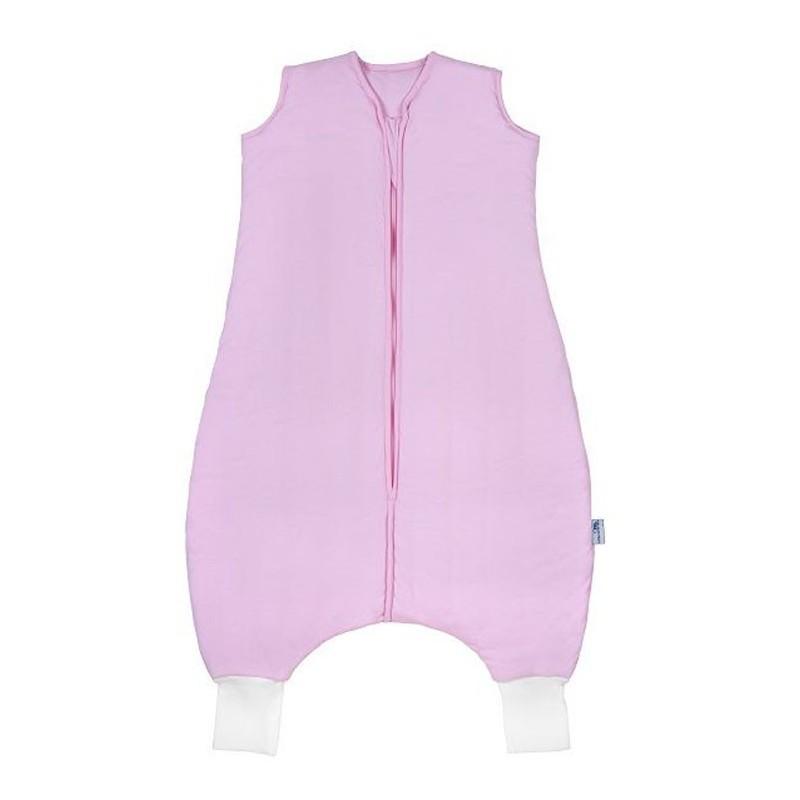 Sac de dormit cu picioruse Plain Pink 3-4 ani 2.5 Tog :: Slumbersac
