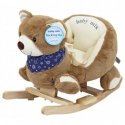 Balansoar muzical Ursuletul Teddy :: Baby Mix