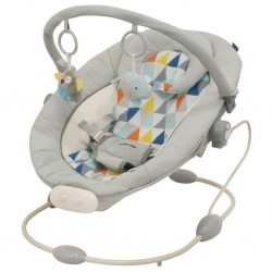 Leagan muzical cu vibratii Grand Confort Grey Rhombus :: Baby Mix