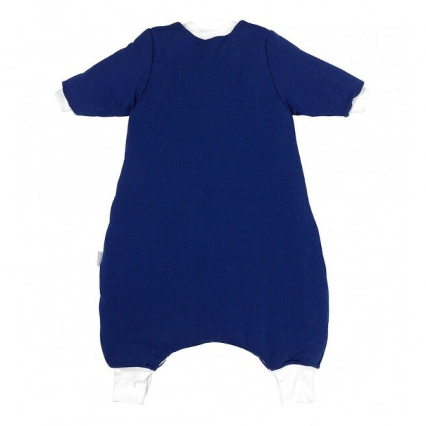 Sac de dormit cu picioruse si maneca lunga Navy Blue 18-24 luni 3.5 Tog :: Slumbersac