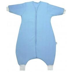 Sac de dormit cu picioruse si maneca lunga Plain Blue 18-24 luni 3.5 Tog :: Slumbersac