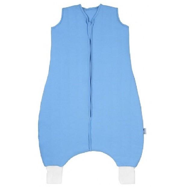 Sac de dormit cu picioruse Plain Blue 5-6 ani 2.5 Tog :: Slumbersac