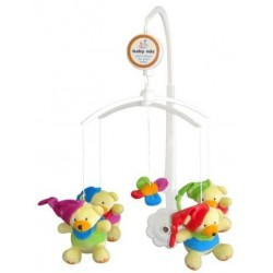 Carusel muzical Clown Bears :: Baby Mix