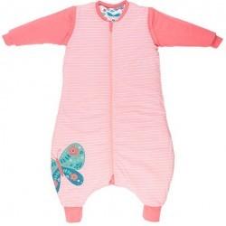 Sac de dormit reversibil cu picioruse si maneca lunga detasabila Butterfly 5-6 ani 2.5 Tog :: Slumbersac