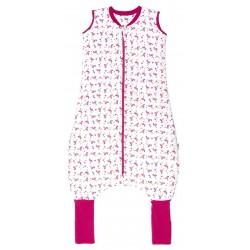Sac de dormit cu picioruse si talpa antiderapanta Flamingo 2-3 ani 2.5 Tog :: Slumbersac