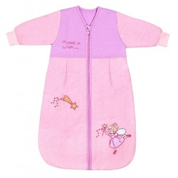 Sac de dormit cu maneca lunga Pink Fairy 18-36 luni 2.5 Tog :: Slumbersac