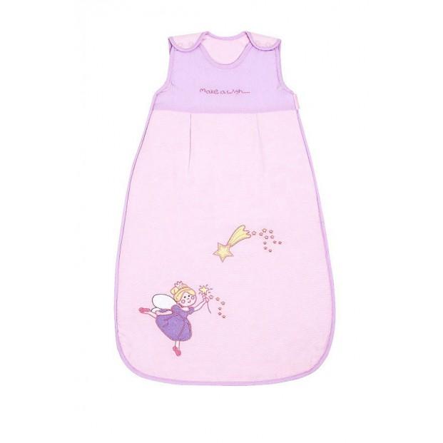 Sac de dormit Pink Fairy 0-6 luni 2.5 Tog :: Slumbersac