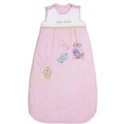Sac de dormit Pink Bird 0-6 luni 2.5 Tog :: Slumbersac