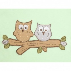 Sac de dormit Mint Owl 0-3 luni 1.0 Tog :: Slumbersac