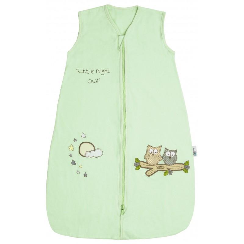 Sac de dormit Mint Owl 0-3 luni 2.5 Tog :: Slumbersac