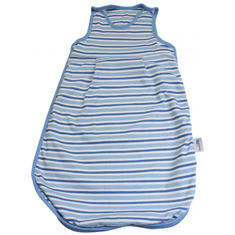 Sac de dormit Blue Stripes 0-3 luni 2.5 Tog :: Slumbersac