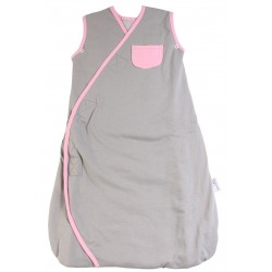 Sac de dormit multifunctional Grey Pink Elephant Travel 0-3 luni 2.5 Tog :: Slumbersac