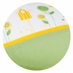 Perna pentru gravide si alaptare Funny Print Green :: Traeumeland