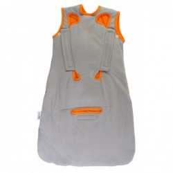 Sac de dormit multifunctional Grey Orange Zoo Animal Travel 0-6 luni 2.5 Tog :: Slumbersac