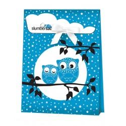 Ambalaj cadou Blue Owls :: Slumbersac