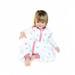 Sac de dormit cu picioruse Girl din muselina 12-18 luni 0.5 Tog :: Slumbersac