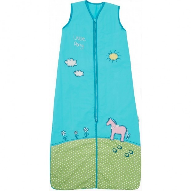 Sac de dormit Pony 18-36 luni 0.5 Tog :: Slumbersac