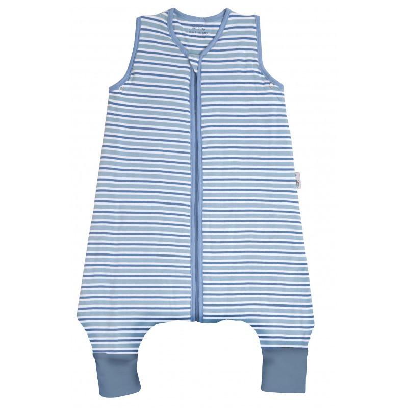 Sac de dormit cu picioruse Blue Stripes 12-18 luni 0.5 Tog :: Slumbersac