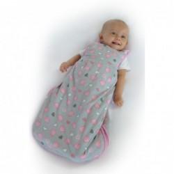 Sac de dormit Pink Elephant 0-6 luni 1.0 Tog :: Slumbersac