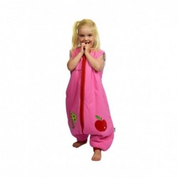 Sac de dormit cu picioruse si maneca lunga detasabila Apple of my eye 2-3 ani 2.5 Tog :: Slumbersac