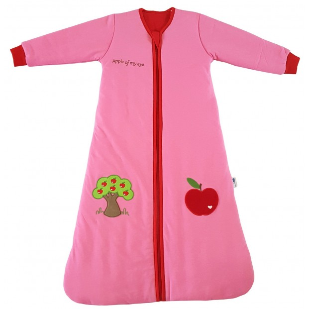 Sac de dormit cu maneca lunga Apple of my eye 0-6 luni 3.5 Tog :: Slumbersac