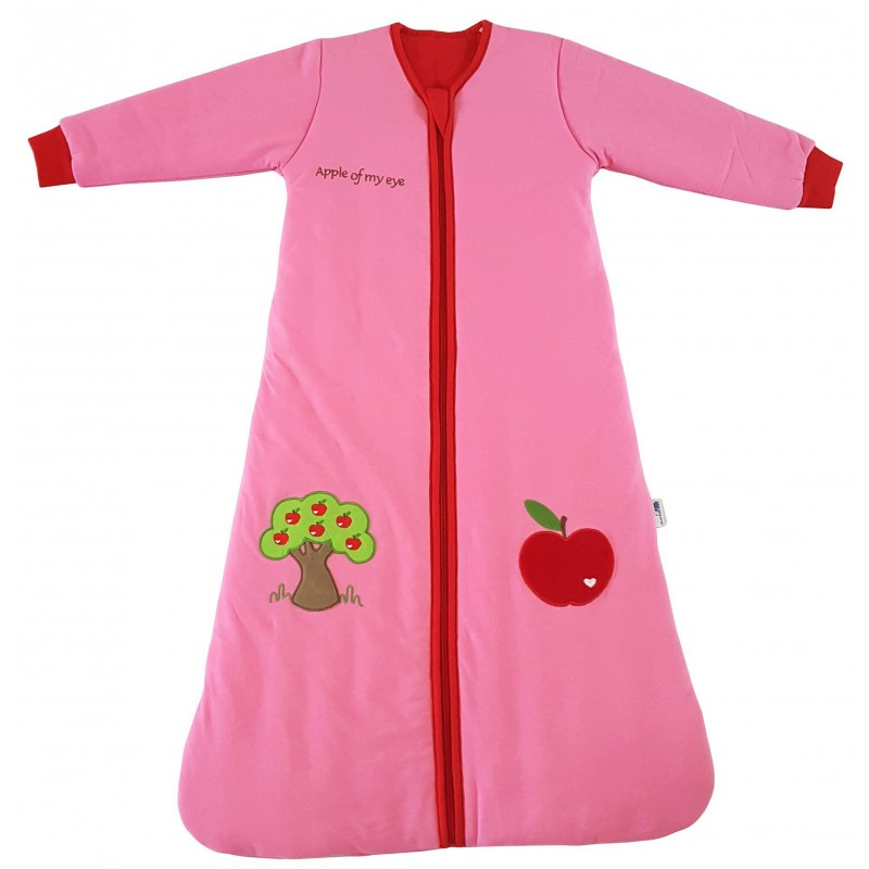 Sac de dormit cu maneca lunga Apple of my eye 6-18 luni 3.5 Tog :: Slumbersac
