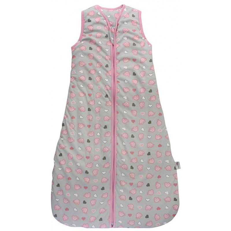 Sac de dormit Pink Elephant 6-18 luni 2.5 Tog :: Slumbersac