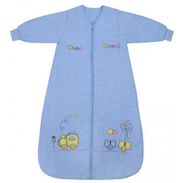 Sac de dormit cu maneca lunga Choo Choo 18-36 luni 3.5 Tog :: Slumbersac