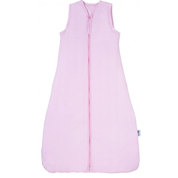 Sac de dormit Plain Pink 3-6 ani 0.5 Tog :: Slumbersac
