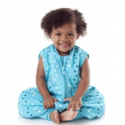 Sac de dormit cu picioruse Teal Stars 3-4 ani 2.5 Tog :: Slumbersac