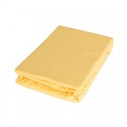 Cearsaf Jersey cu elastic 120 x 200 cm Galben