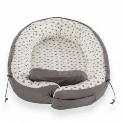 Cuib pentru bebelusi Gray Stars :: Traeumeland