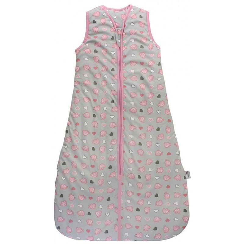 Sac de dormit Pink Elephant 3-6 ani 2.5 Tog :: Slumbersac