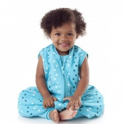 Sac de dormit cu picioruse Teal Stars 3-4 ani 1.0 Tog :: Slumbersac