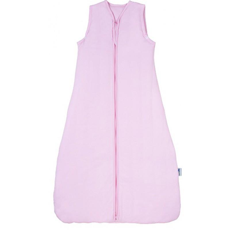 Sac de dormit Plain Pink 6-10 ani 0.5 Tog :: Slumbersac