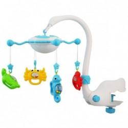 Carusel muzical cu proiectie Aqua Magic - albastru :: Baby Mix